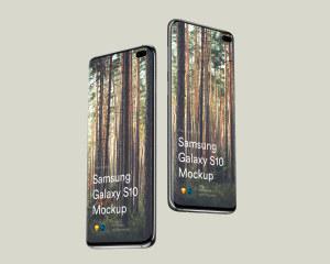 三星智能手机S10超级样机套装 Samsung Galaxy S10 Mockups插图29