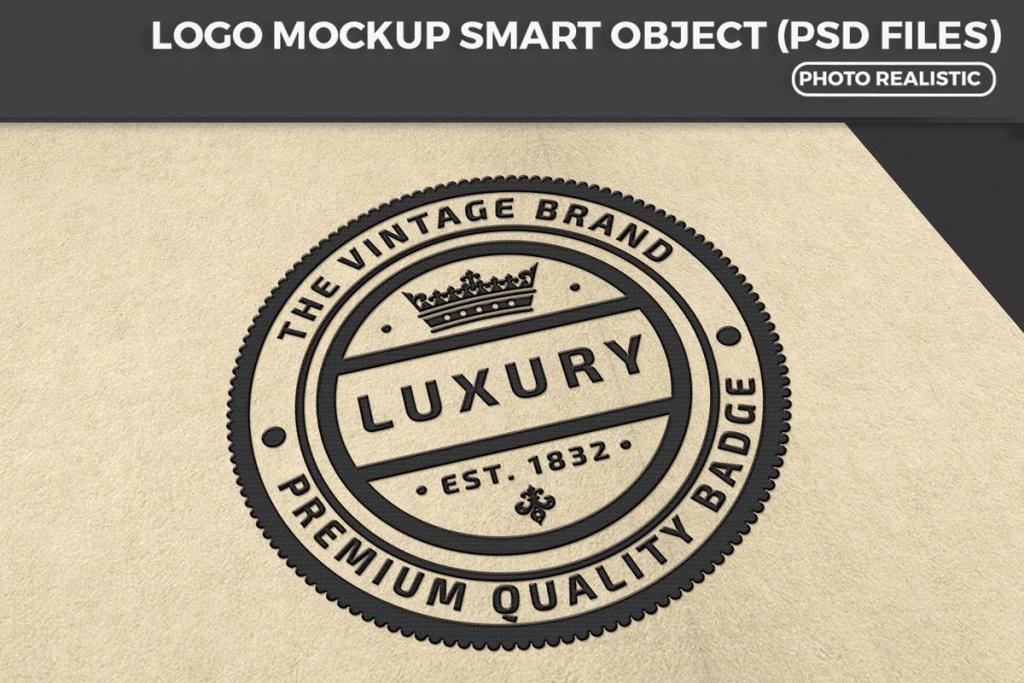 商标品牌Logo设计预览样机模板 Logo Mockup Design插图
