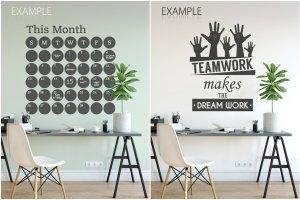办公室墙纸设计样机模板合集 OFFICE Interior Wall Mockup Bundle插图17