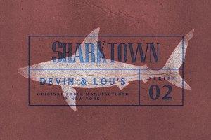 复古活版印刷效果图层样式 Vintage Letterpress Effects Vol.2插图4