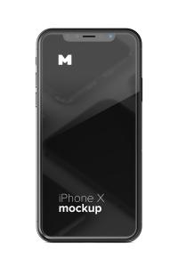 iPhone X智能手机UI设计屏幕演示样机免费素材 Free iPhone X Mockup 01插图9
