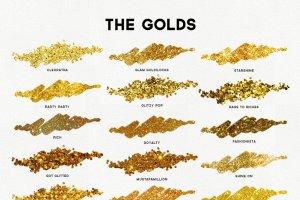 140款精心制作的色彩斑斓图层样式 The Glitz Shoppe插图3