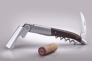 开瓶器品牌Logo展示样机 Wine knife and wine cork mock-up插图1