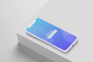 iPhone手机渲染图样机模板 Mobile Mockups插图1