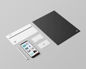 企业品牌VI视觉设计展示办公用品样机套件PSD模板 Stationery Branding & Identity Mockup – PSD插图3