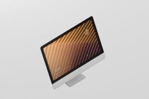 iMac电脑桌面屏幕样机模板 Desktop Screen Mockup插图13