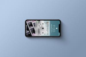 多角度的高品质iPhone X样机VI展示模型mockups插图2