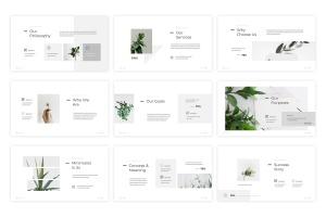 简约优雅设计风格Keynote演示文稿模板 Minimia – Keynote Template插图3