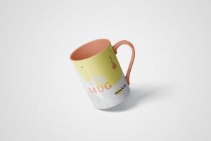 马克杯图案设计多视觉预览样机模板 5 Mug Mockups插图3