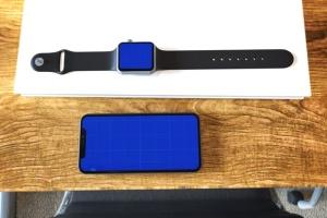 Apple智能手表&iPhone Xs手机样机模板 Apple Watch & iPhone XS插图14