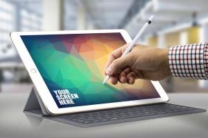 iPad Pro响应式UI设计演示设备样机 iPad Pro Responsive Mockup插图3