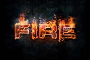 震撼熔岩火焰特效PS图层样式 Hot Lava & Fire Photoshop Layer Styles插图1