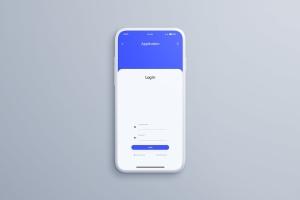 全屏智能手机屏幕预览样机模板 Smartphone Mockups插图7
