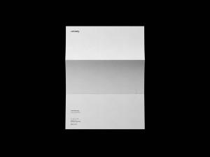 折叠信纸设计预览效果图样机 Folded Letter Mockup插图2