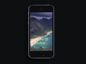 超级主流桌面&移动设备样机系列:iPhone SE 智能手机样机 [兼容PS,Sketch;共3.13GB]插图5