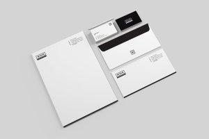 简约实用品牌办公文具样机模板 Minim – Simple Clean Stationery插图2