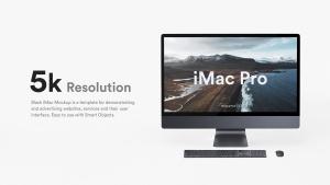 5K高分辨率iMac Pro一体机多角度样机模板 iMac Pro Kit插图11
