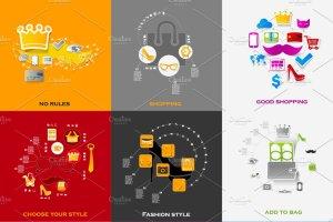 48个时尚购物信息图 48 FASHION&SHOPPING infographics插图5