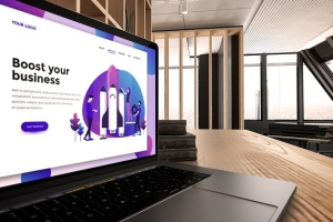 真实场景Macbook笔记本网页UI设计展示样机v1 MacBook Pro V.1插图5