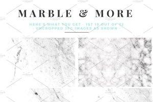大理石&烫金锡纸纹理 Marble & More Backgrounds插图6