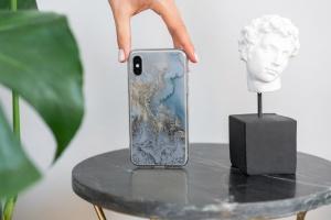 iPhone Xs透明手机壳外观设计效果图样机v2 iPhone Xs Clear Case Mock-Up vol.2插图10