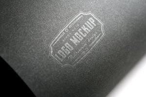 烫印烫金Logo样机模板 Logo Mock-Up插图8