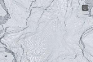 抽象网络信号波纹图案PS笔刷 Network Turbulence Photoshop Brushes插图11