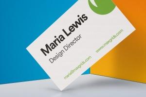 企业名片设计侧立效果图样机模板v2 Business Card Mockup 02插图5