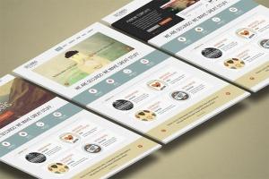 3D立体图网站UI设计效果图样机 3d Website Display Mockup插图2