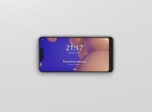 谷歌智能手机Pixel 3 XL屏幕预览样机模板 Smart Phone Mockup Pixel 3 XL插图7