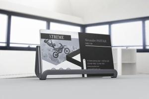 企业品牌名片设计展示样机 Business Card Mockups插图2