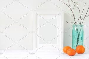 冬天简约风格办公场景背景 Tangerine Winter Bundle插图7