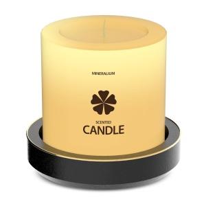 木制蜡烛外观设计PSD样机模板 Wooden Candle PSD Mock-ups插图3