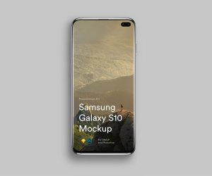 三星智能手机S10超级样机套装 Samsung Galaxy S10 Mockups插图5