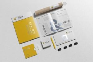 企业品牌VI办公用品样机设计模板V3 Branding-Stationery Mockups V3插图13