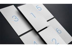 现代独特iPhone X浮动特效 UI设计展示PSD模型Mockups插图13