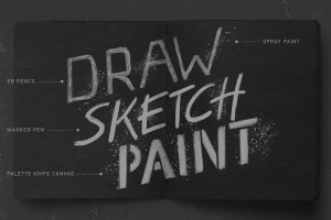 素描/水彩/油画Procreate专用笔刷 Procreate Brushes Starter Kit插图(3)