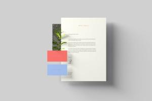 创意办公用品套件品牌VI设计预览样机 Branding Stationery Mockups插图2