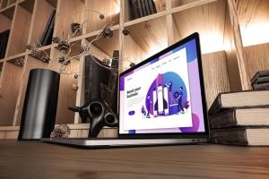 真实场景Macbook笔记本网页UI设计展示样机v1 MacBook Pro V.1插图7
