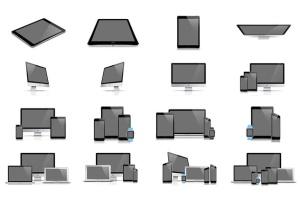 62款响应式网页设计预览样机套装 62 Responsive Mockups插图3