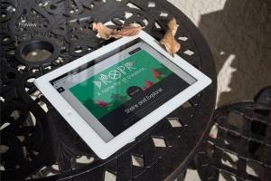 响应式网站设计iPad&Macbook显示效果样机模板 Responsive iPad Macbook Display Mock-Up插图4