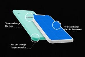 极简主义 iPhone X 样机模板 Minimal iPhone Mockup插图3