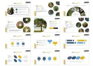 绿色大自然主题Keynote幻灯片模板素材 Greenlife – Keynote Template插图3