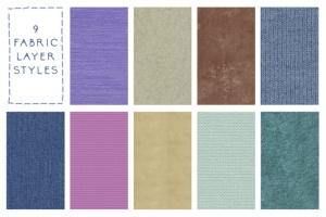 仿真缝纫和刺绣针织效果Photoshop套件 Sewing & Embroidery Photoshop Kit插图5
