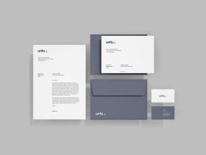 简约品牌VI视觉设计预览样机模板 Simple Branding Mockup插图1
