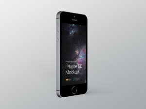 超级主流桌面&移动设备样机系列:iPhone SE 智能手机样机 [兼容PS,Sketch;共3.13GB]插图11