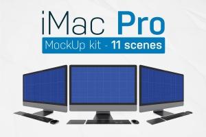 PC网站演示iMac Pro样机套件 iMac Pro Kit插图1