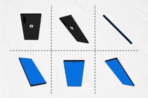 三星智能手机Note 10多角度预览样机模板 Note10 Kit插图4