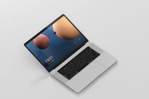 高分辨率笔记本电脑样机 Laptop Screen Mockup插图12
