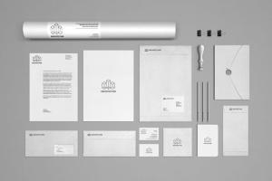 办公文具品牌展示样机模板v1 Branding / Stationery Mock-Up Vol.1插图3